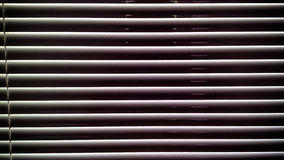 Horizontal stripes pattern blinds Stock Images
