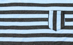 Horizontal strips black and blue pattern fabric. Royalty Free Stock Photo