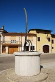 Horizontal Sundial in Aiello Royalty Free Stock Photography