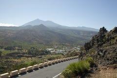 Horizontal sur l'île de Tenerife Photo stock
