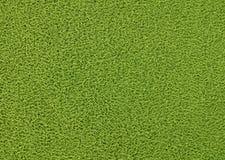 Horizontal Texture Background of The Green Plastic Doormat Stock Photo