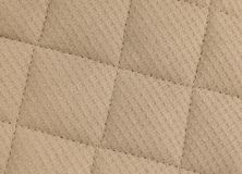 Horizontal Texture of Brown Upholstery Fabric Pattern Background Royalty Free Stock Images