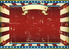 Horizontal textured american background Royalty Free Stock Images