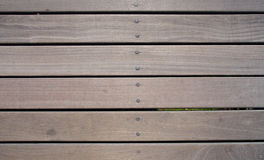 Horizontal timber flooring Stock Photography