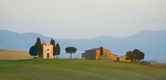 Horizontal toscan Photo libre de droits