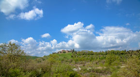 Horizontal, Toscane Val d'Orcia Photo libre de droits