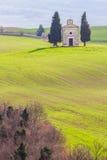 Horizontal, Toscane Val d'Orcia Photographie stock libre de droits