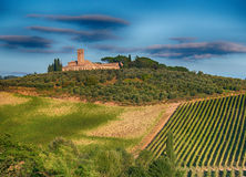Horizontal, Toscane Val d'Orcia Photo stock