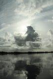 Horizontal tranquille Photo libre de droits