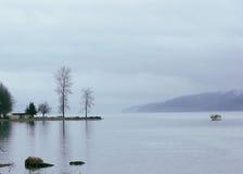 Horizontal tranquille et détendant Image libre de droits