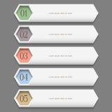 Horizontal trendy Design template Royalty Free Stock Photo