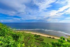 Horizontal tropical Bali, Indonésie Image libre de droits