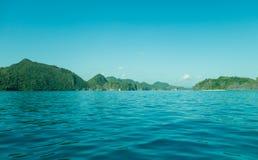 Horizontal tropical d'île Images stock