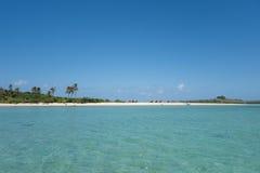 Horizontal tropical d'île Photographie stock libre de droits