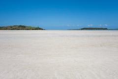 Horizontal tropical d'île Image stock