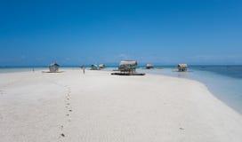Horizontal tropical d'île Photos stock