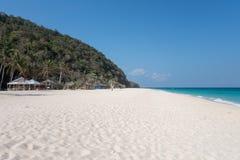 Horizontal tropical d'île Photo libre de droits