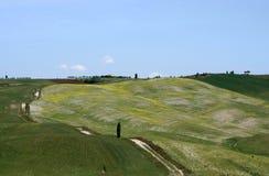 Horizontal type en Toscane Image libre de droits