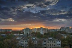 Horizontal urbain photographie stock