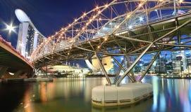 Horizontal urbain de Singapour Images libres de droits