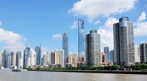 Horizontal urbain de ville Image stock