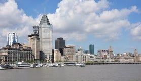 Horizontal urbain de ville de Changhaï Images libres de droits