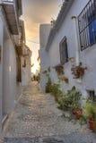 Horizontal urbain espagnol Photos stock
