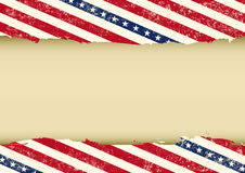 Horizontal USA dirty background Royalty Free Stock Photo