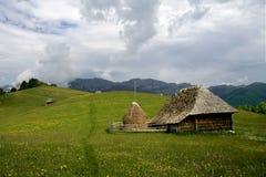 Horizontal V de montagne Photo stock