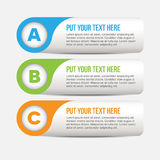Horizontal Vector Web Banner Stock Image