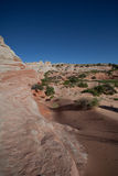 Horizontal vermeil de falaises Photos libres de droits