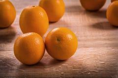 Horizontal version fresh ripe tasty orange fruits Stock Photos