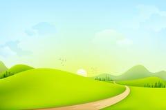 Horizontal vert Images libres de droits