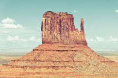 Horizontal view of famous Monument Valley Royalty Free Stock Image