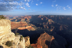 Horizontal view of Grand Canyon Royalty Free Stock Photography