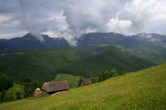 Horizontal VII de montagne Photo libre de droits