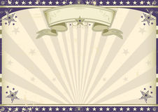 Horizontal vintage banner Royalty Free Stock Images
