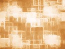 Horizontal vintage brown canvas texture element Stock Photos