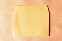 Horizontal vintage empty floppy case background Royalty Free Stock Image