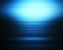 Horizontal vivid blue alloy abstraction Royalty Free Stock Photo