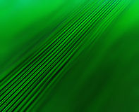 Horizontal vivid green lines business abstraction Stock Images
