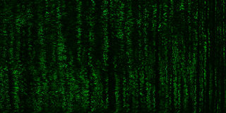 Horizontal vivid matrix neo cyberpunk hacker terminal tv Royalty Free Stock Photo