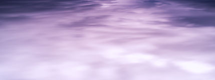 HORIZONTAL VIVID PURPLE CLOUDSCAPE Royalty Free Stock Photo