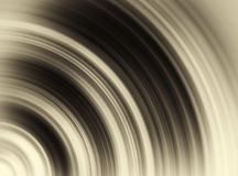 Horizontal vivid sepia vinyl radial swirl Royalty Free Stock Photography