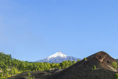 Horizontal volcanique Image stock