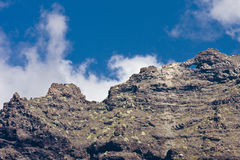 Horizontal volcanique Images stock