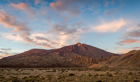 Horizontal volcanique de Tenerife Image stock