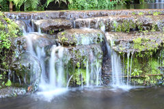 Horizontal water fall Royalty Free Stock Images