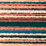 Horizontal wavy line pattern background. Stock Photos