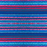 Horizontal wavy line seamless pattern background. Royalty Free Stock Photos
